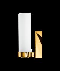 Kinkiet łazienkowy złoty Metro 22 Gold 7,5×12,5x22cm