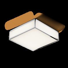 Lampa sufitowa łazienkowa Decor Walther Bauhaus LED Chrome 28x8x28cm