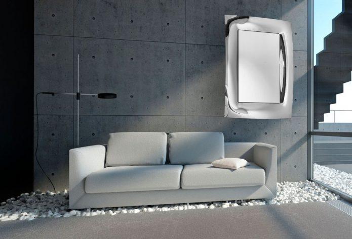 Stylowy poduszki srebrny salonu design
