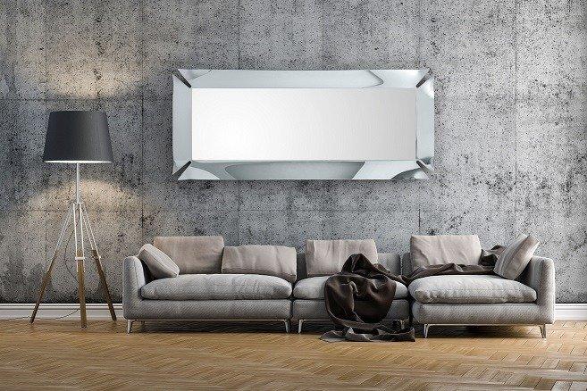 Deasinerskie Lampy sufitowe srebrny hotel aranżacje