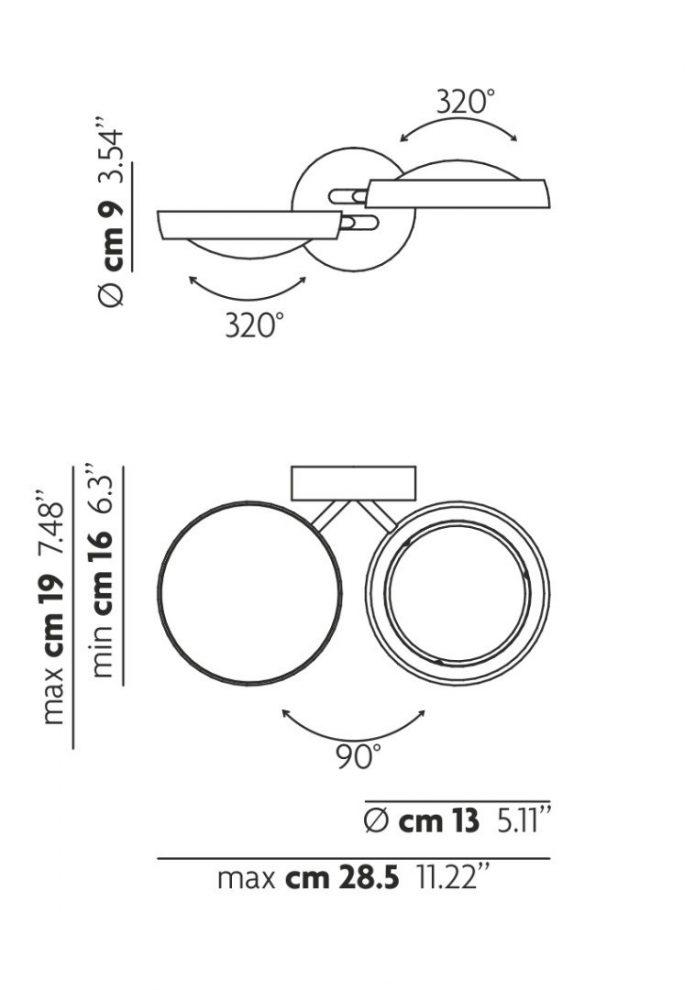 Eksluzywne Lustra narożne rejstauracja sklep wyposażenie wnętrz