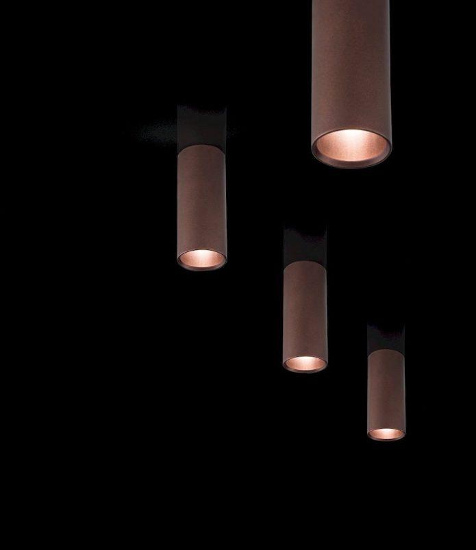 Glamour lampy czarne gabinet BBHome
