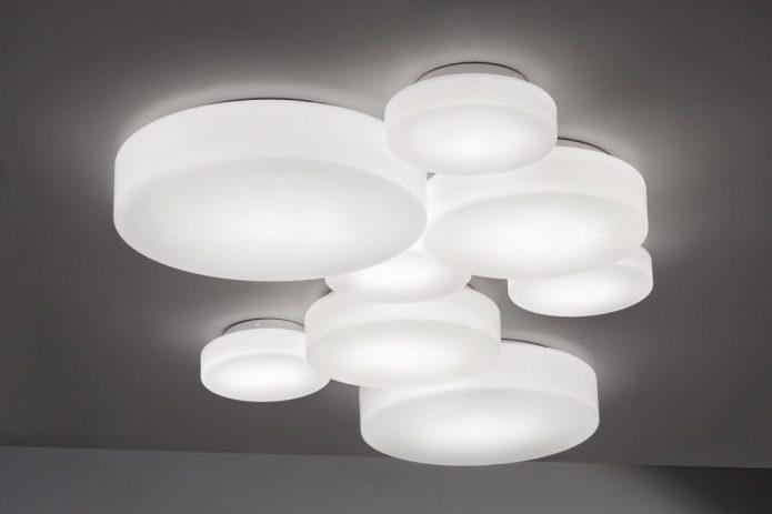 Industrialny Lampy sufitowe metal pokoju dziennego cena