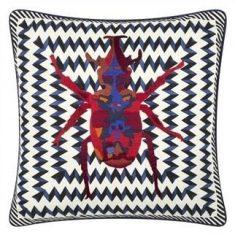 Poduszka dekoracyjna Lacroix Beetle Waves Oeillet 40x40cm