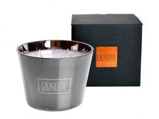 Świeca zapachowa BBHome Nepal Grey Copper 9,5x13cm