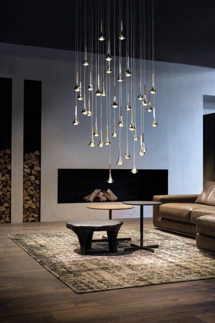 Stylowy dywaniki szklany jadalni design