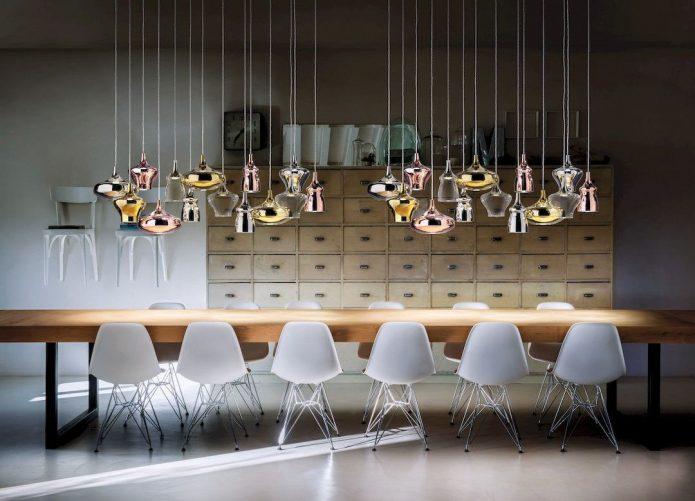 Modny Lampy stojące mosiężne salon wyprzedaż