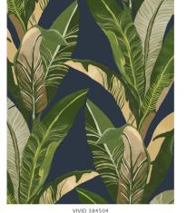 Tapeta w liście bananowca Eijffinger Vivid Jungle nr. 384504 280x210cm