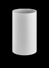 Kosz łazienkowy na śmieci otwarty Decor Walther Stone White 18,5x30cm