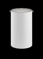 Kosz łazienkowy na śmieci Decor Walther Stone White Inox 18,5x30cm