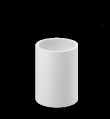 Kubek łazienkowy Decor Walther Stone White 8x10cm