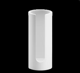 Pojemnik na płatki kosmetyczne Decor Walther Stone White 7x17cm