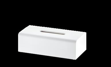 Pojemnik na chusteczki prostokątny Decor Walther Stone White 26×13,5x8cm