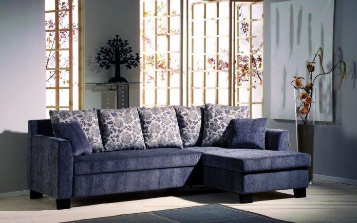 Eleganckie poduszki srebrne przedpokoju cena