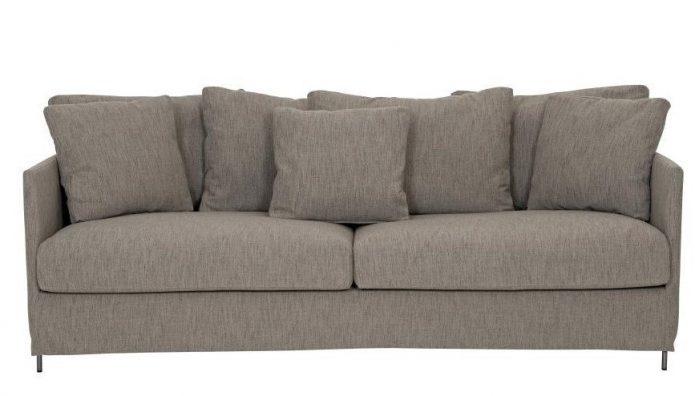 Nowoczene sofa kwadratowy pokój dzienny aranżacja