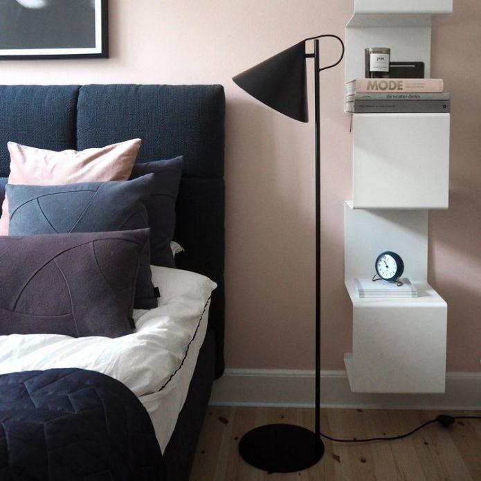 Stylowy Lampy podłogowe z drewna łazience sklep wyposażenie wnętrz