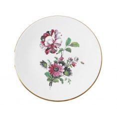 Talerz porcelanowy Majolika Chrysanthemum 28cm talerz