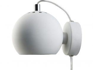 Kinkiet biały Frandsen Ball White Matt 15x12cm