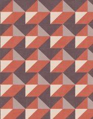 Tapeta Arte Atelier Cosma Red 10x1m nr.A21062
