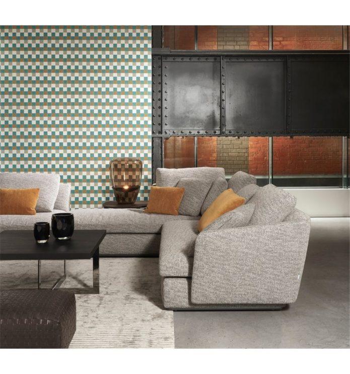 W stylu nowojorskim sofa tapiecerowana drewiane pokój nastolatka na zamówienie