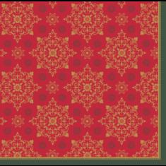 Serwetki X-Mas Deco Red Duni 40x40cm