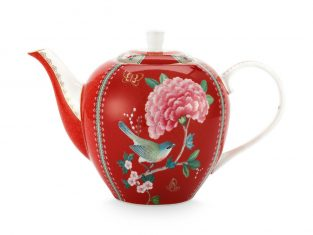 Dzbanek porcelanowy Pip Studio Blushing Birds Red 1600ml