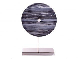Dekor z marmurem Magalim Nickel Marble Grey 30x10x43cm