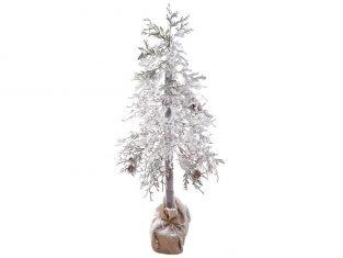 Choinka na pniu BBHome Snowed Pines Xmas Tree 150cm