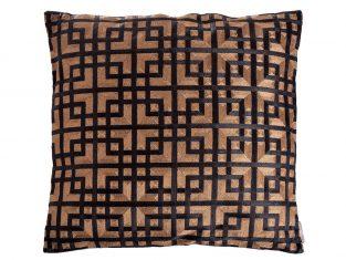 Poduszka dekoracyjna Bradbury Gold Black 50x50cm