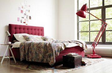 Łóżko kontynentalne Sembella  King 160x200cm
