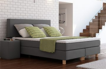 Łóżko kontynentale Sembella Prince 160x200cm