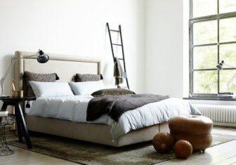 Łóżko konynentalne Sembella Queen 160x200cm