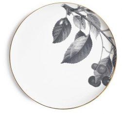 Talerz porcelanowy Majolika Cherry Grey 28cm