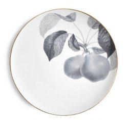 Talerz porcelanowy Majolika Bergamotte Grey 28cm