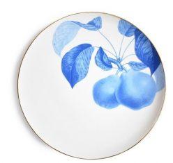 Talerz porcelanowy Majolika Bergamotte Blue 28cm