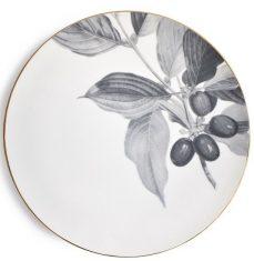 Talerz porcelanowy Majolika Cornus Grey 32cm