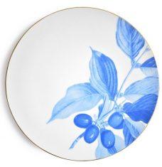 Talerz porcelanowy Majolika Cornus Blue 32cm