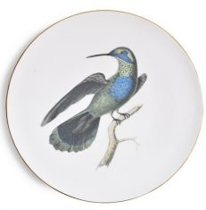 Talerz porcelanowy Majolika Colibri d`Anais 32cm