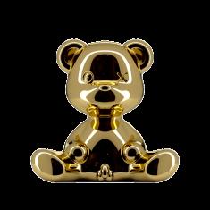 Lampka miś Teddy Boy Gold Qeeboo 35x21x32cm
