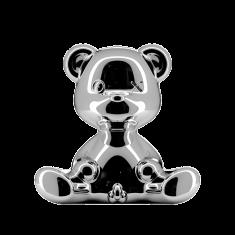 Lampka miś Teddy Boy Silver QeeBoo 35x21x32cm