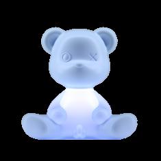Lampka miś Teddy Boy Blue QeeBoo 35x21x32cm