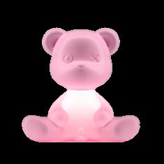 Lampka miś Teddy Boy Pink QeeBoo 35x21x32cm