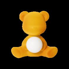 Lampka miś Teddy Girl Velvet D.Gold QeeBoo 35x21x32cm
