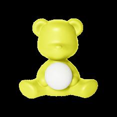 Lampka miś Teddy Girl Lime 35x21x32cm