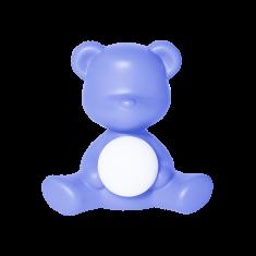 Lampka miś Teddy Girl Blue QeeBoo 35x21x32cm