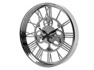 Zegar ścienny BBHome Gears Silver 36cm
