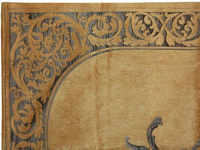 Orentalny dywaniki biały rejstauracja promocja