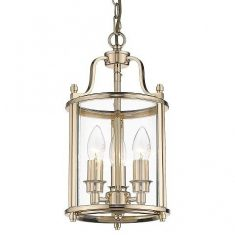 Lampa wisząca New York Gold 3L 20x137cm Cosmo Light