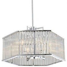 Żyrandol Glassglow 6L 57,5x120cm Cosmo Light