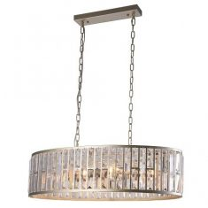 Lampa wisząca Moscow Oval 78x34x20cm Cosmo Light